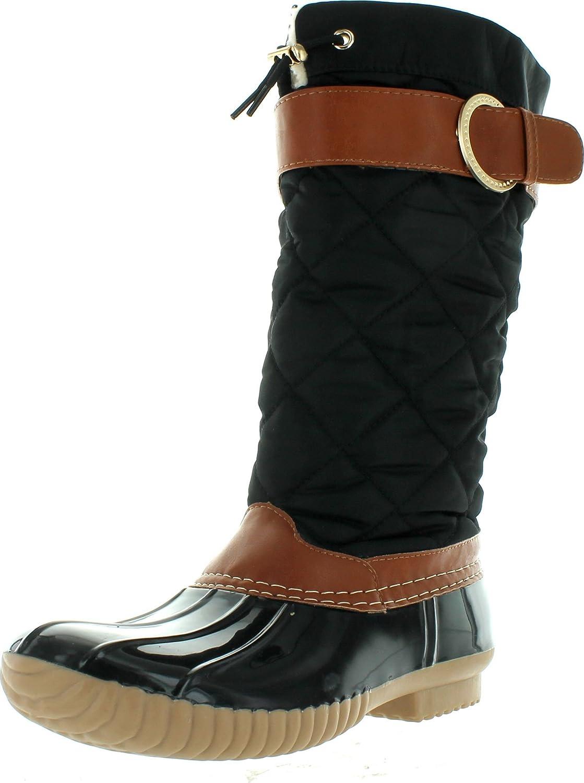 B7777 Tall Duck Boot Rain \u0026 Snow Boot