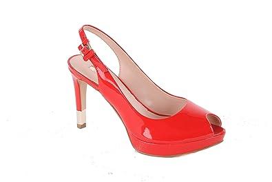 054b8042fe35 Guess - Escarpin talons aiguilles Guess Karina ref gue36899-red  Amazon.fr   Chaussures et Sacs