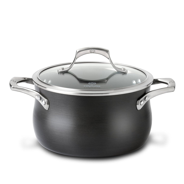 Calphalon Unison Nonstick 4-Quart Soup Pot with Lid