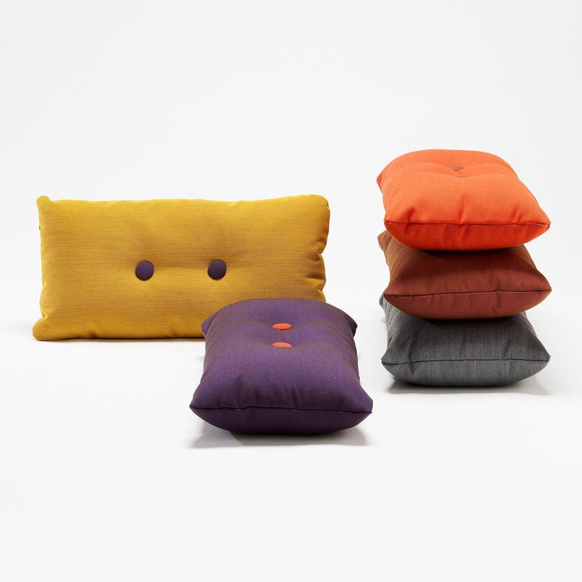Hay Cuscini.Hay Dot Cushion Pillow Steel Cut Trio 2x2 124 Graphic Design
