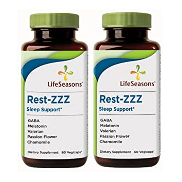 Amazon.com: lifeseasons rest-zzz Herbal Melatonina Dormir ...