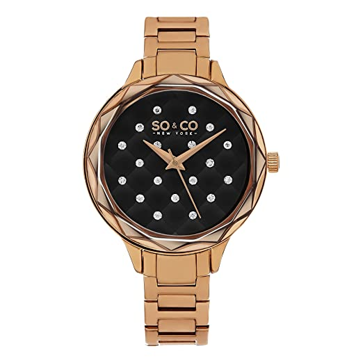 SO & CO New York 5255.4 - Reloj de pulsera Mujer, acero inoxidable, color