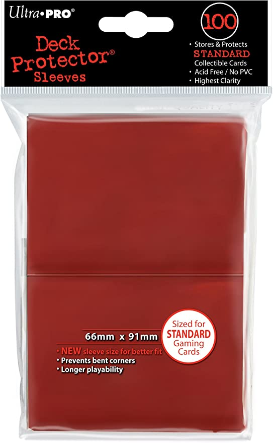 Hearts Border NEW 50 count pack ULTRA PRO Deck Protector Sleeve Covers
