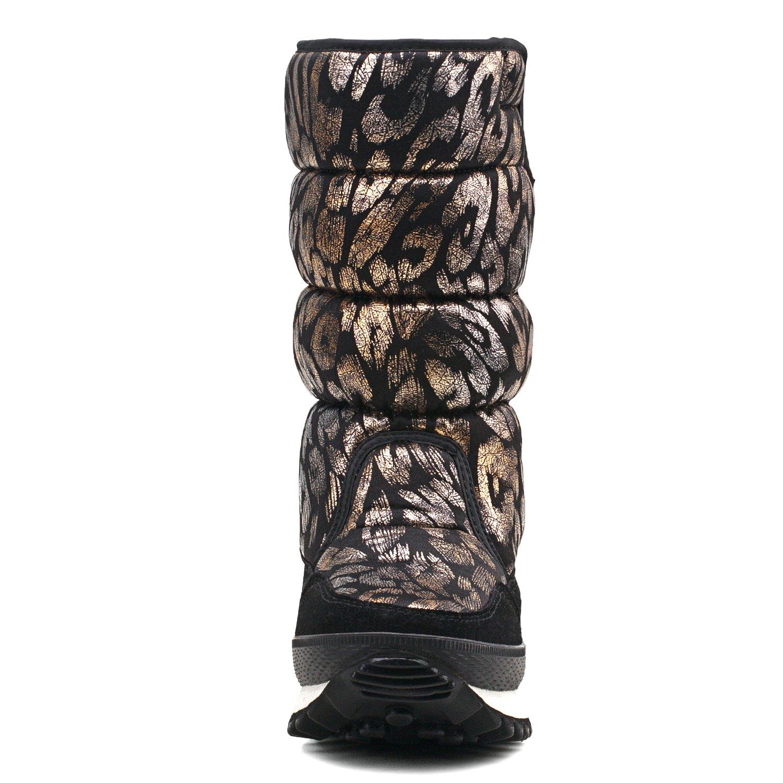 Amazon.com: Shenda E9489 - Botas de nieve para mujer: Shoes