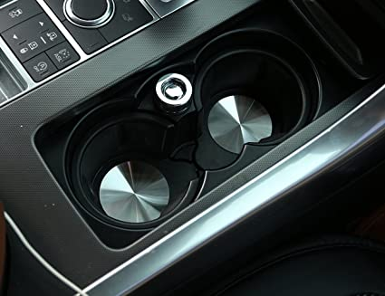 150aa8c410a4 Image Unavailable. Image not available for. Color  METYOUCAR Stainless  steel Car Cup Holder Cover ...