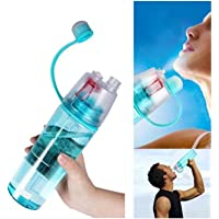 Inditradition 2 in 1 Drink & Mist Water Bottle | Spray Water Bottle, 600 ML