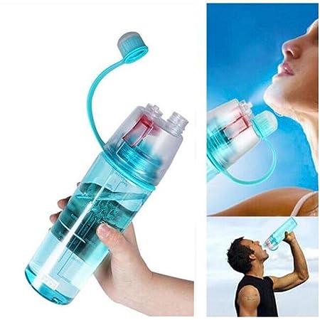 Inditradition 2 in 1 Drink  amp; Mist Water Bottle | Spray Water Bottle, 600 ML