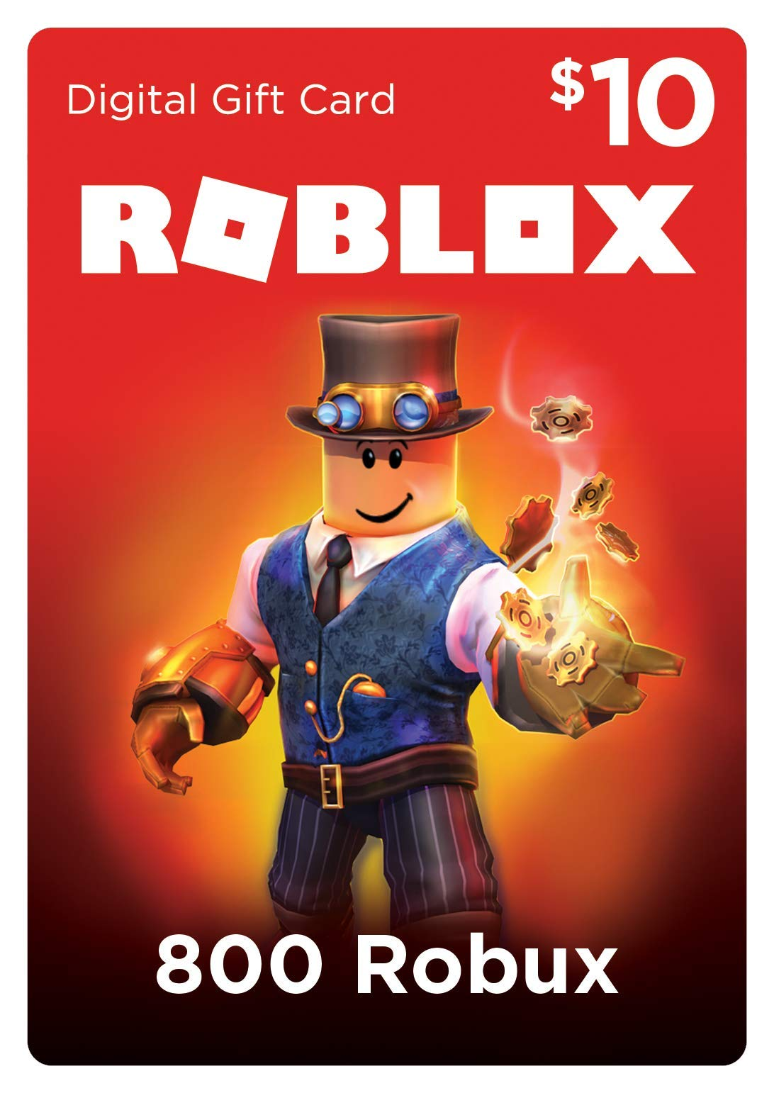 800 Robux for Roblox [Online Game Code] by Roblox