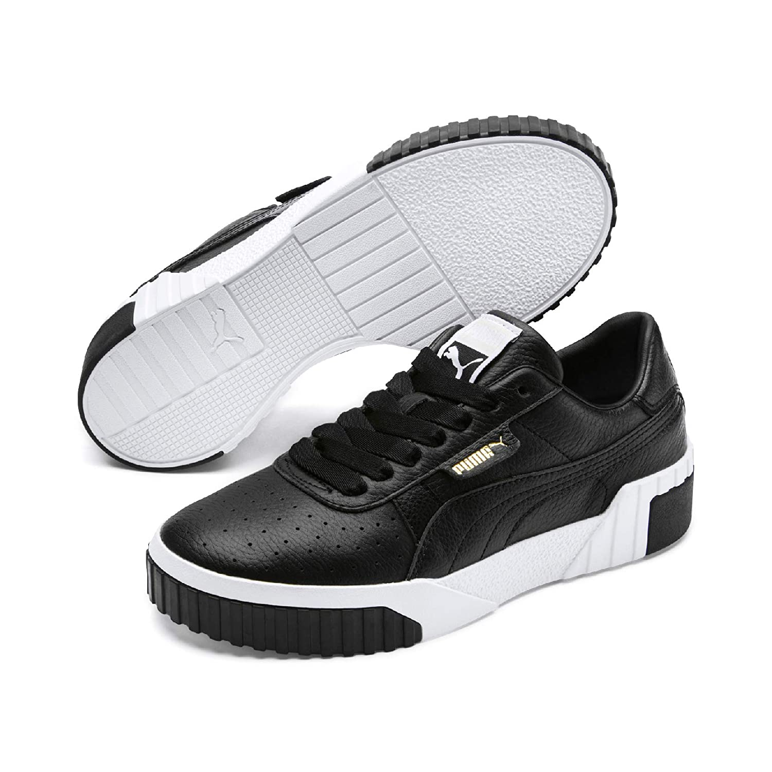 outlet sale select for best suitable for men/women Amazon.com | PUMA Cali Womens Black/White Sneakers-UK 7 ...