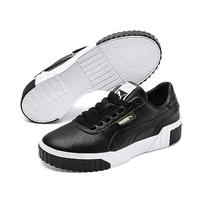 Puma Damen Cali WN's Sneaker Schwarz Black White, 42.5 EU
