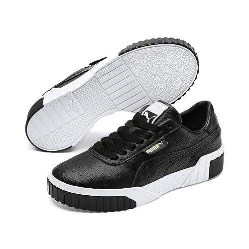 a461532cb Zapatillas Puma Cali Negro Blanco Mujer  Amazon.es  Zapatos y complementos