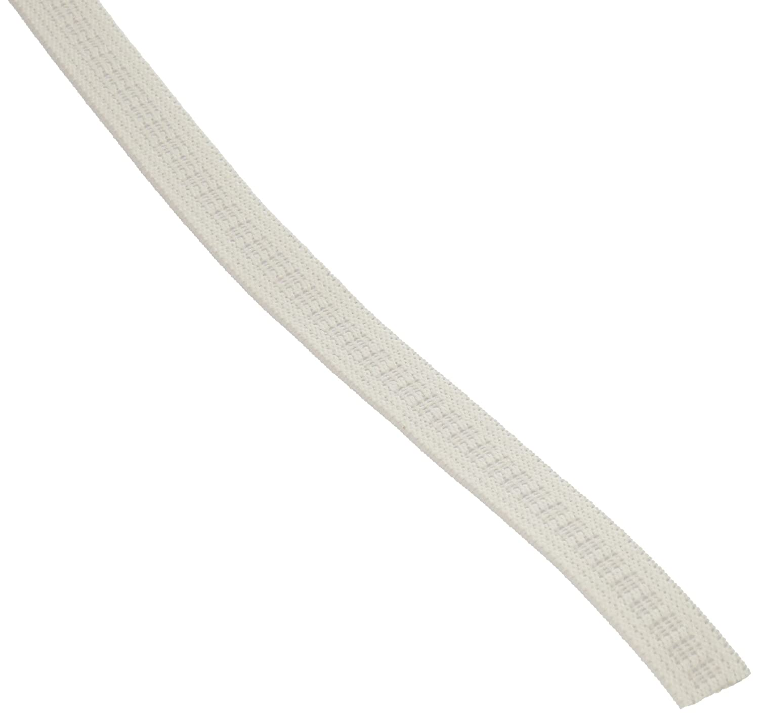 White Dritz 9405W Non-Roll Woven Elastic 1//2-Inch by 30-Yard