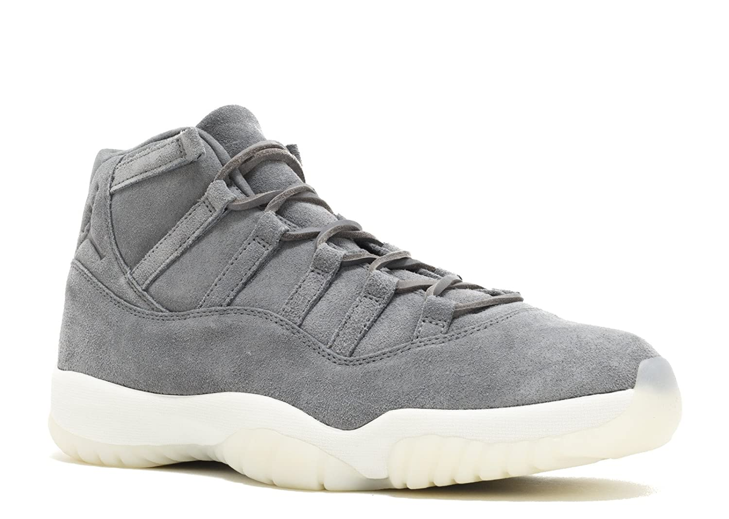 AIR JORDAN - エアジョーダン - AIR JORDAN 11 RETRO PREM 'GREY SUEDE' - SIZE 8 (メンズ) B01NH30R0I