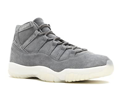 uk availability 596c3 3e3be Nike AIR Jordan 11 Retro PREM 'Grey Suede' - Size 12 -