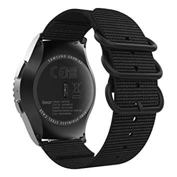 MoKo Compatible con Garmin Vivoactive 3/Galaxy Watch Active/Gear S2 Classic/Galaxy Watch 42mm/Ticwatch E Reloj Correa, 20mm Pulsera Deportivo de Reloj ...