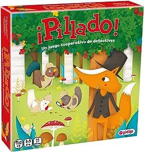 Pillado (Ludilo) Juego cooperativo de detectives, Juego de mesa muy divertido para los más pequeños. Juegos de mesa para niños, Juegos educativos: Amazon.es: Juguetes y juegos