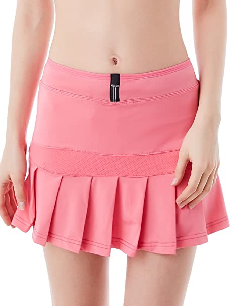 695f41f86 Minifalda plisada para mujer, con pantalones cortos integrados de Jimmy  Design