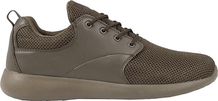 Urban Classics Light Runner Shoe pour Adulte Unisexe Sneakers - Bleu - Blau (cobaltblue/cobaltblue 718), 41