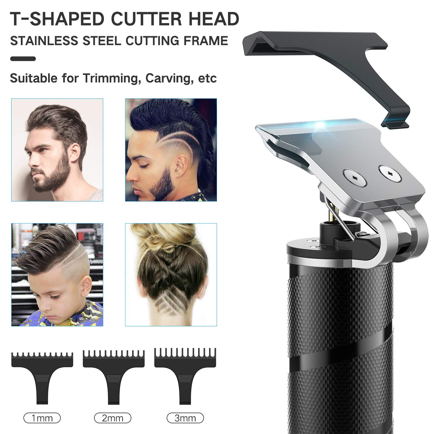 Amazon Promo Code for Professional Cordless Hair Clippers for Men