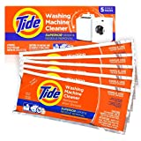 Tide Washing Machine Cleaner Front and Top Loader Machines, 5 Count Box
