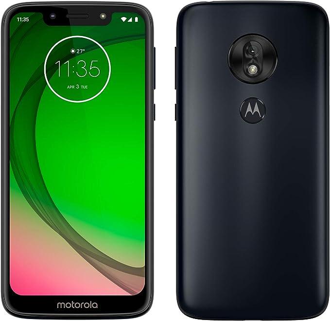 Motorola Moto G7 Play – Smartphone Android 9 (pantalla 5.7 HD+ Max Vision, cámaras trasera 13MP, cámara selfie 8MP, 2GB de RAM, 32 GB, Dual SIM), color azul índigo [Versión española]: Motorola:
