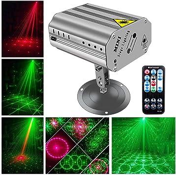 Amazon.com: Luces de discoteca para DJ, U`King, proyector de ...