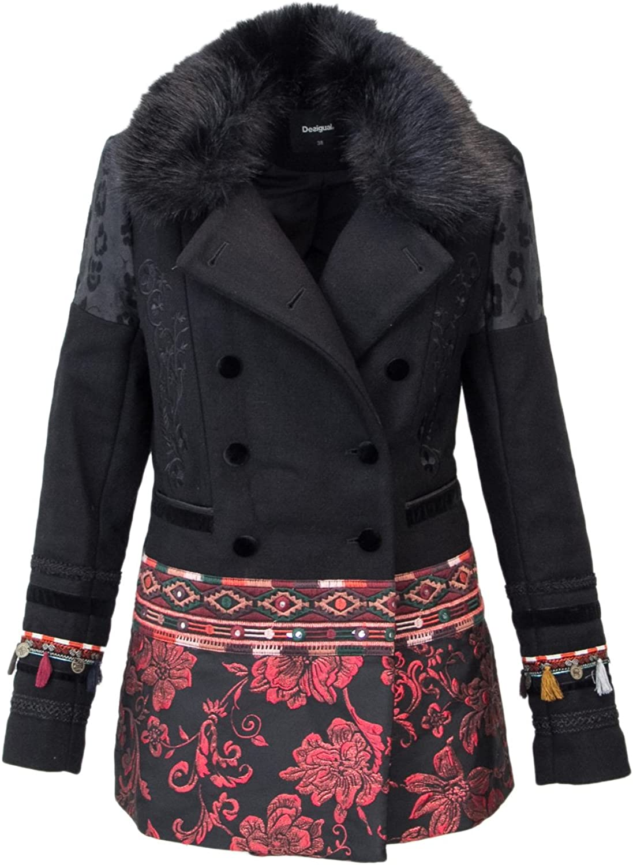 Desigual Womens Abrig/_Bratislava Coat