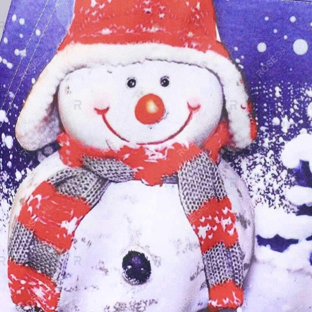 Goosuny Weihnachten Kapuzenpullover Damen Langarm Weihnachtspullover Sweatshirt Langarm Schneemann Drucken Christmas Hoodie Kapuzen Oberteil Weihnachtspulli Loose Longpullover