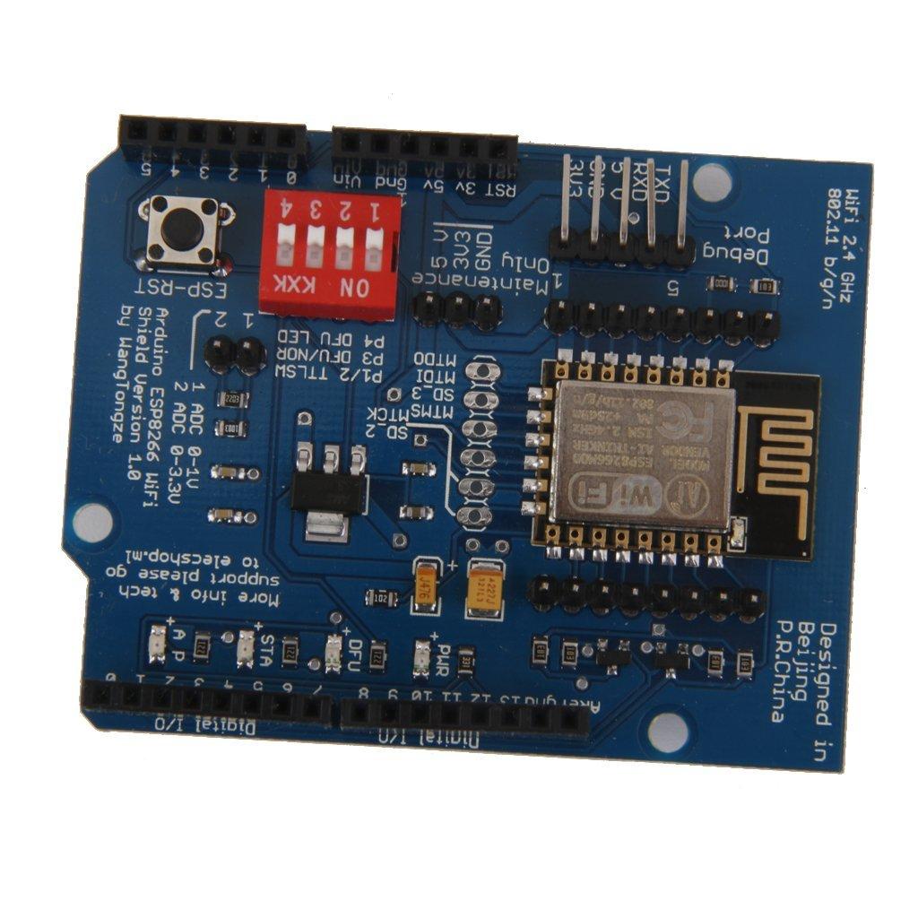 Generic Imported ESP8266 ESP-12E Uart Wifi Wireless Shield Dev Board For Arduino UNO R3 (B01EM11WD6) Amazon Price History, Amazon Price Tracker