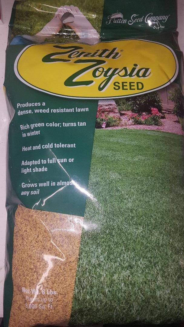 Zenith Zoysia Seed 1lb