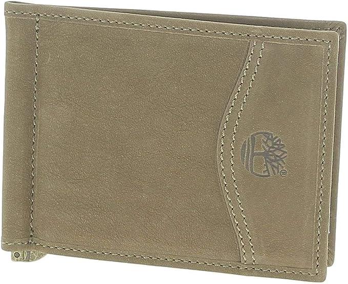 Timberland Clip Wallet Portafogli Uomo Marrone: Amazon.it