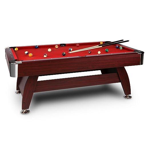 3 opinioni per oneConcept Brighton tavolo da gioco (122 x 82 x 214 cm, biliardo, due stecche,