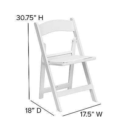 Amazon.com: HERCULES Series 1000 lb. Silla plegable de ...