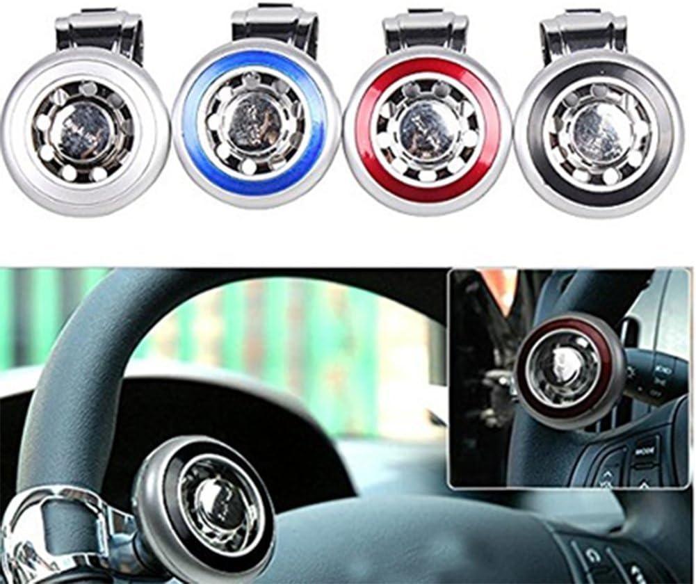 Chytaii Car Steering Wheel Handle Steering Wheel Knob Steering Wheel Power Handle Spinner Knob Red