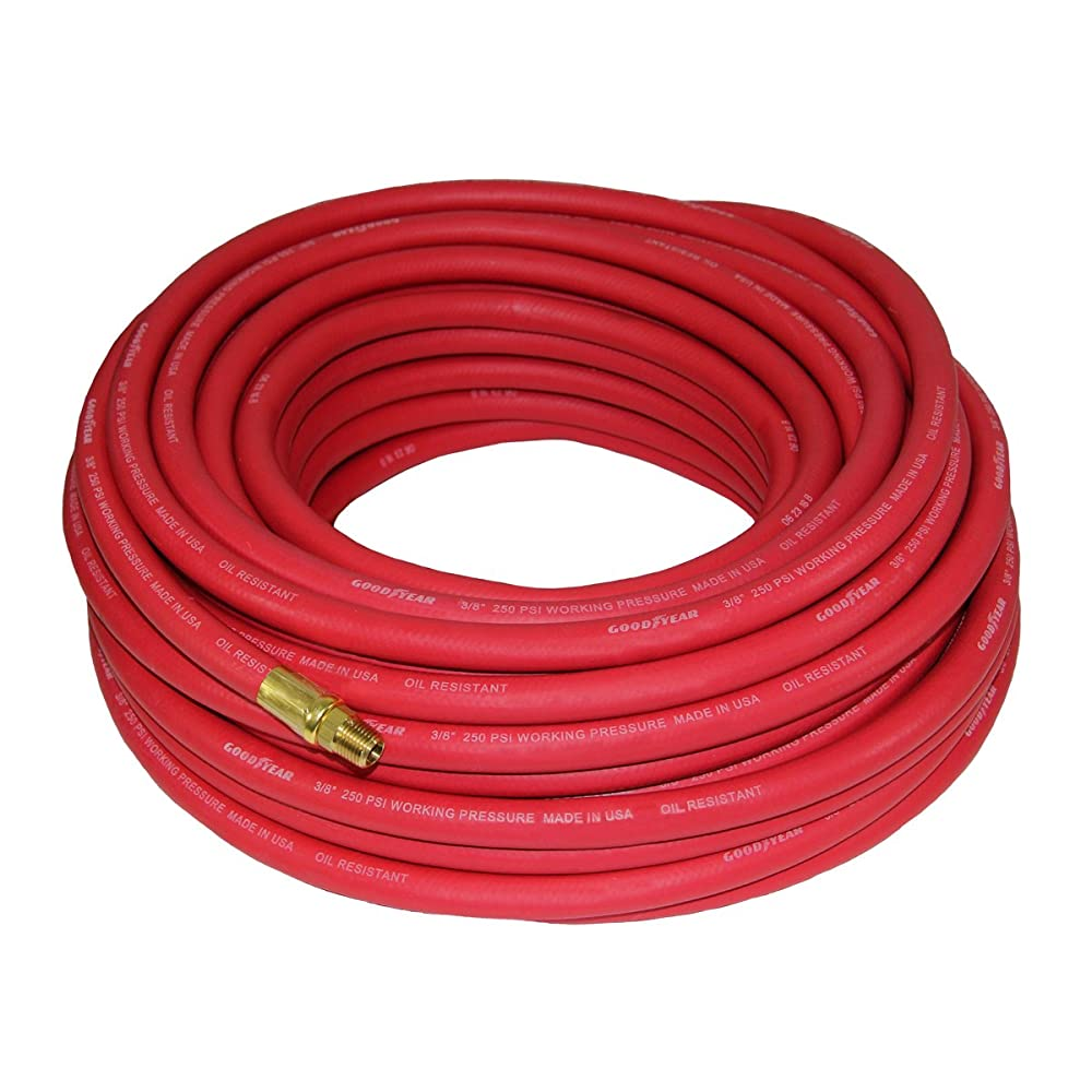 Good Year 12674 Rubber Air Hose Red, 50-Feet x 3/8-Inch Review