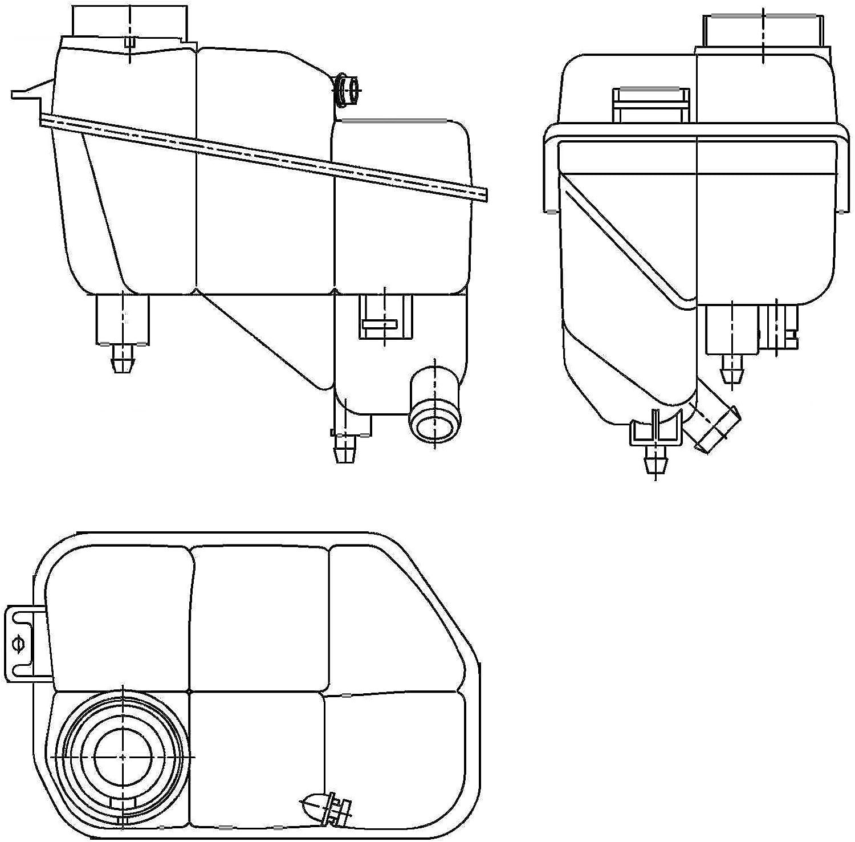 Behr Hella Service 8ma 376 789 701 Ausgleichsbehälter Kühlmittel Auto
