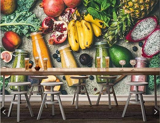 Weaeo Jugo Fruta Aguacate Plátanos Comida Foto Wallpaper ...