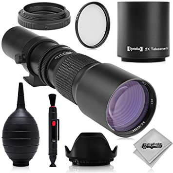 Review Super 500mm/1000mm f/8 Manual