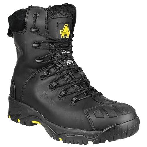 Amblers Safety FS999C S3 Mens Metal Zip Boots  SLCI532AZ