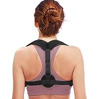 Back Posture Corrector for Women Men, Cenawin Comfortable Posture Brace Effective Corrective Shoulder Adjusts Worn Under…