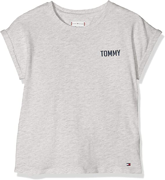Tommy Hilfiger Baby Girls Solid Wide Rib S//S Tee T-Shirt