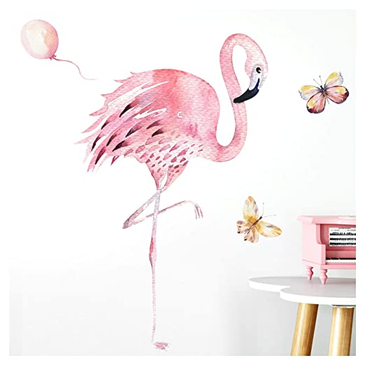Little Deco Pegatina de Pared Flamingo I A4-21 x 29,7 cm I ...