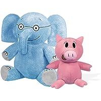 Elephant 18cm & Piggie 13cm Soft Toys