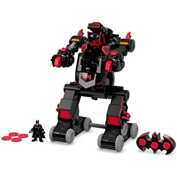 mini Fisher-Price Imaginext Batbot