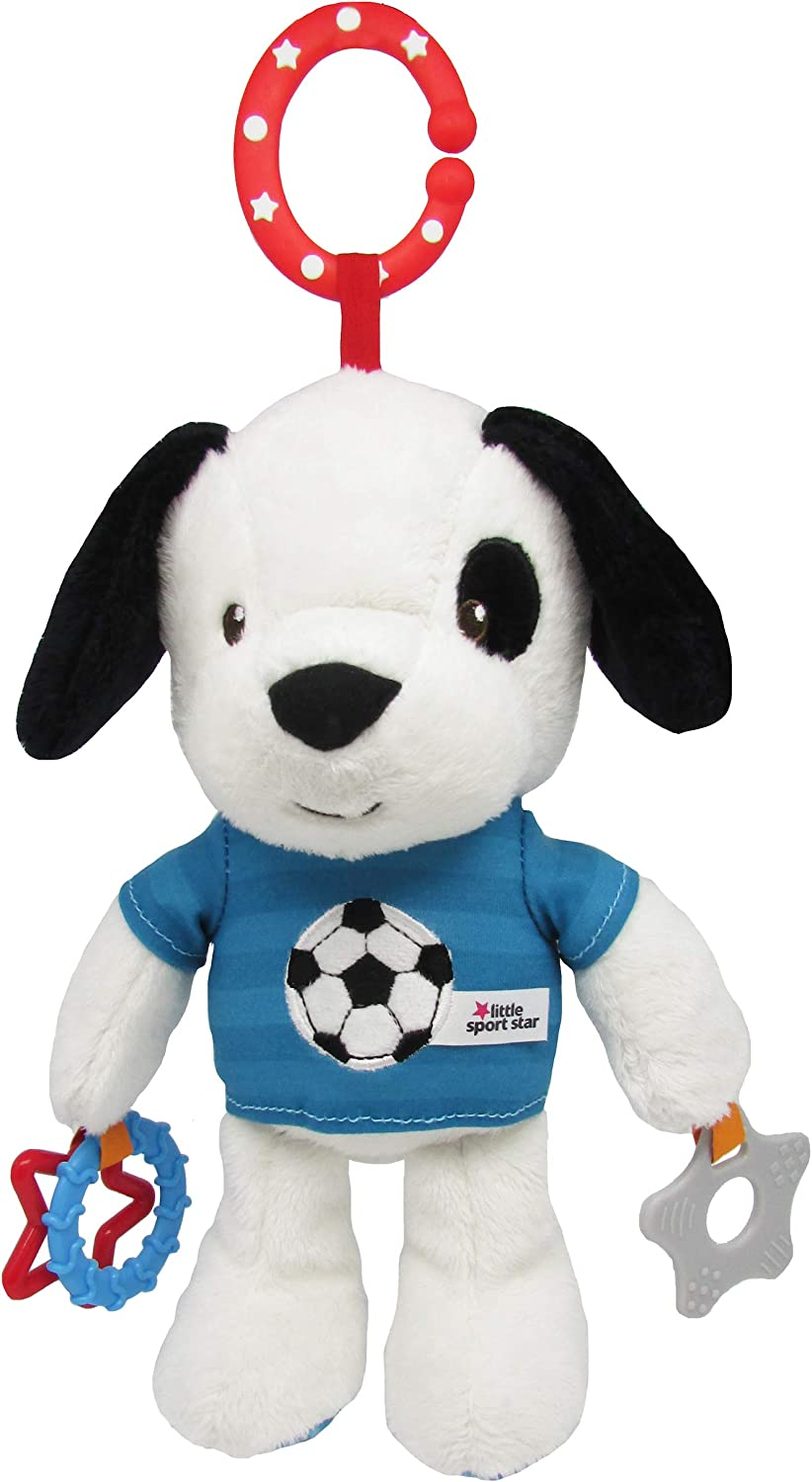 Little Sport Star Football Toys with Sound Freddie The Teddy Bear Sensory /& Developmental Toys Unisex Baby Toys /& Sensory Toys Football Gifts for Newborn Baby /& Toddler Boys /& Baby Girl Toys