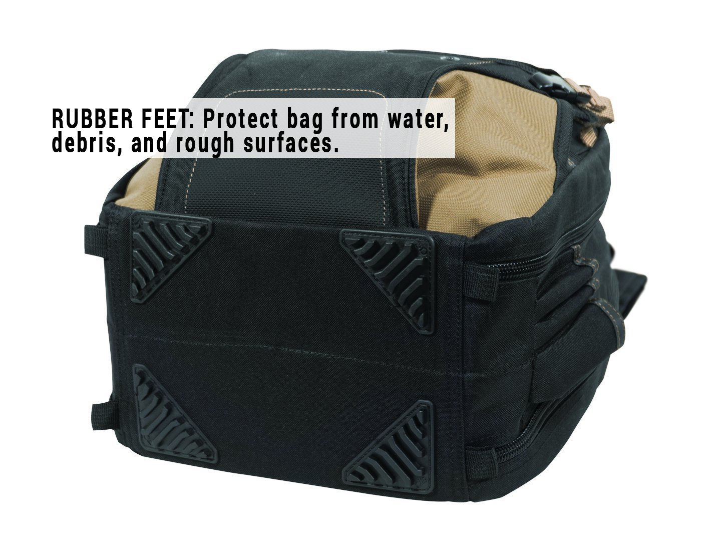 CLC 1134 Carpenter's Tool Backpack with 44 Pockets and Padded Back Support by Custom Leathercraft (Image #6)
