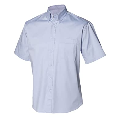 Henbury Herren Hemd / Arbeitshemd, kurzärmlig