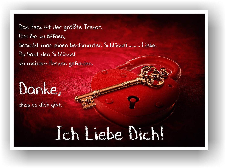 Liebesschloss Geschenkidee Partner Partnerin Poster Bild