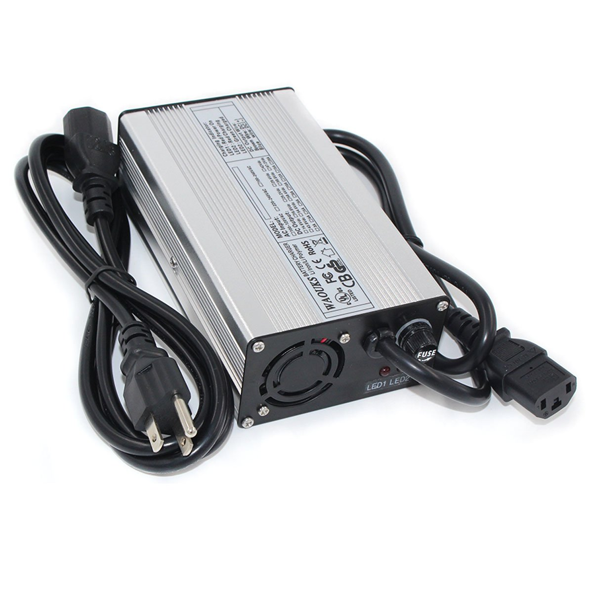 WAOUKS 72V 3A Charger 82.8V Lead Acid Battery Charger for E-Bike Battery Float Charge 88.2V Auto-Stop Smart Charge DONGGUAN WATE ELECTRONICS CO. LTD WATE-7203S