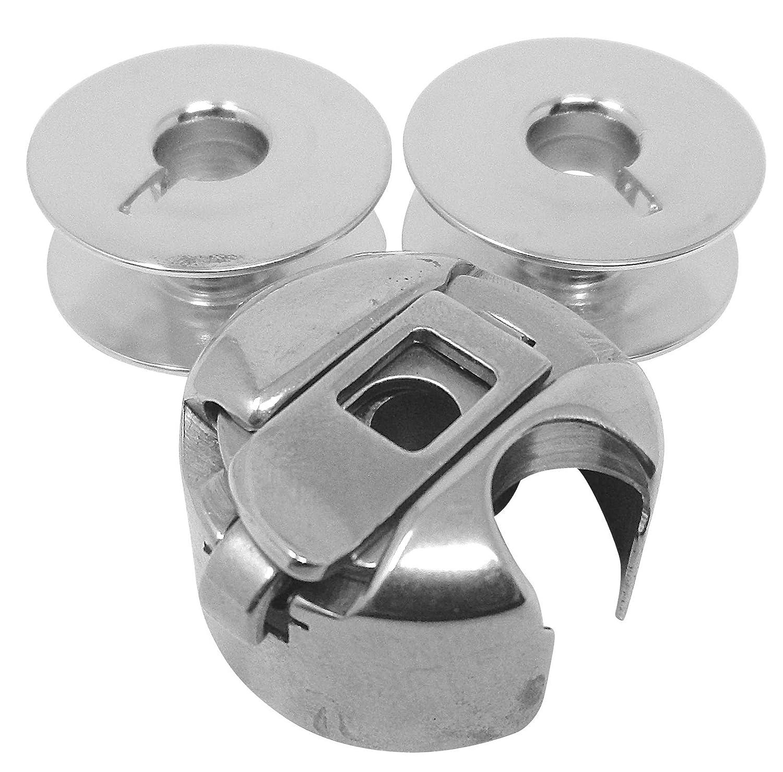 Unterfaden 5 Kunststoff Spulen ehem. DDR N/ähmaschine f/ür Veritas